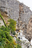 Assumption Monastery of the Caves in rock, Crimea — Stock Photo