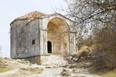 Mausoleum Dzhanike-Khanym in chuft kale, Crimea — Stock Photo