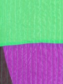 Patchwork textile background from stitched silk — Stock Photo
