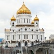 Cathedral of Christ the Saviour, Moscow in autumn — Stock Photo #57968635