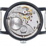 ������, ������: Mechanic clockwork of old wristwatch isolated