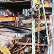 Factory warehouse with used spare parts — Stock Photo #60168729