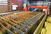 Tabla de antorchas de gas y plasma máquina de corte — Foto de Stock