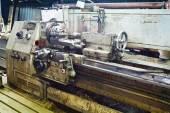 Engine metal lathe machine — Stock Photo