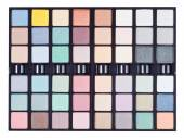 Makeup kits in case close up isolated — Stok fotoğraf