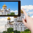 Photo of Cathedral of Christ the Saviour, Moscow — Stock Photo #66840699