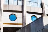 Modern office building from concrete and glass — ストック写真