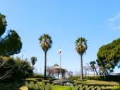 Bellini Garden in Catania city, Sicily — ストック写真