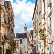 Cityscape - street via Gesuiti in Catania city — Stock Photo #70981525