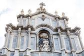 聖アガサ カターニア大聖堂のファサード — ストック写真
