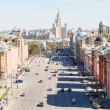 Above view of Lubyanka Square in Moscow — Stock Photo #72379195