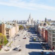 Panorama of Lubyanka Square in Moscow — Stock Photo #72379197