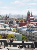Moskau-Großstadt mit Kreml — Stockfoto