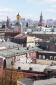 Moscow city landscape with Kremlin — Stockfoto