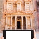 Photo of Treasury Monument in antique city Petra — Stock Photo #73144113