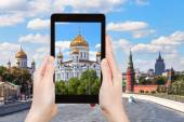 Picture of Cathedral of Christ the Saviour, Moscow — Stock Photo
