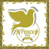 Projeto de paz — Vetorial Stock