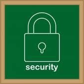 Security design — Stockvektor