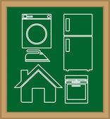 Appliance design — Stock Vector