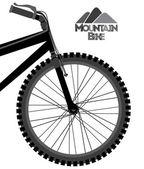 Tasarım bisiklete binme — Stok Vektör