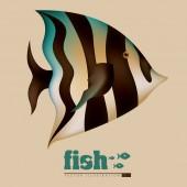 Fish design — Wektor stockowy