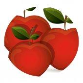 Vruchten ontwerp — Stockvector