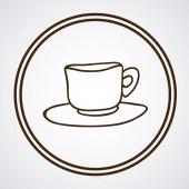 Koffie ontwerp — Stockvector