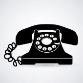 電話機デザイン — ストックベクタ