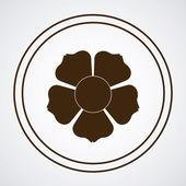 鲜花设计 — 图库矢量图片