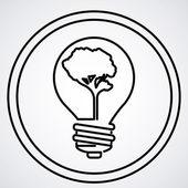 Projeto de lâmpada — Vetor de Stock
