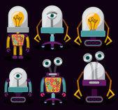 робота дизайн — Cтоковый вектор