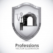 Profession design — Stock Vector