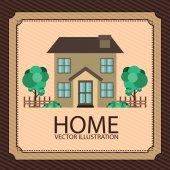 Home design — Stock Vector
