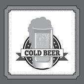 啤酒设计 — 图库矢量图片
