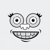 Cartoon design — Stock Vector