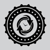Tijd design — Stockvector
