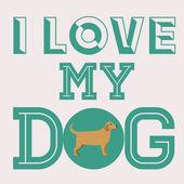Disegno animali domestico — Vettoriale Stock