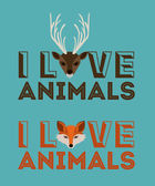 Animal design — Stock Vector