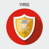 Diseño de seguridad — Vector de stock