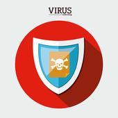 дизайн безопасности — Cтоковый вектор