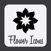 Disegno fiore — Vettoriale Stock