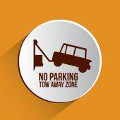 Parking design — Stock Vector