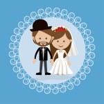 Wedding design — Stock Vector #59055463