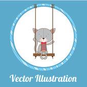 Animals design — Stock Vector