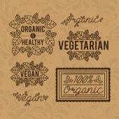 Food design, vector illustration. — Vector de stock