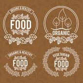 Food design, vector illustration. — Stock Vector
