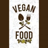 Food design,vector illustration. — Stock Vector