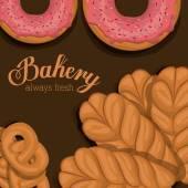 Bakery design, vector illustration. — Stock Vector