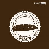 Bakery design, vector illustration. — Stock Vector