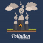 Pollution design, vector illustration. — Stock Vector #63532975